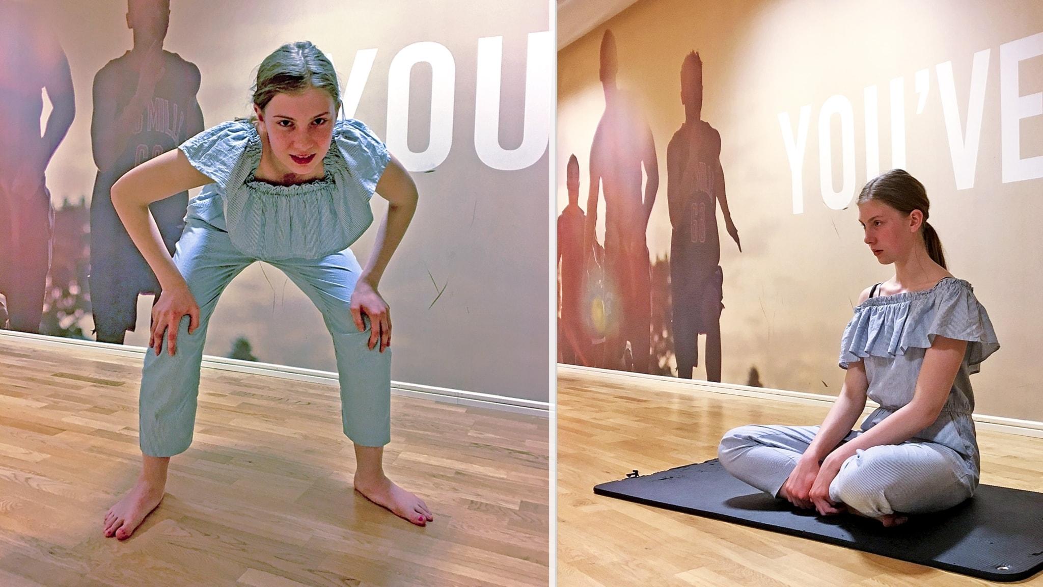 Yoga och dans hjälper My med magsmärtorna