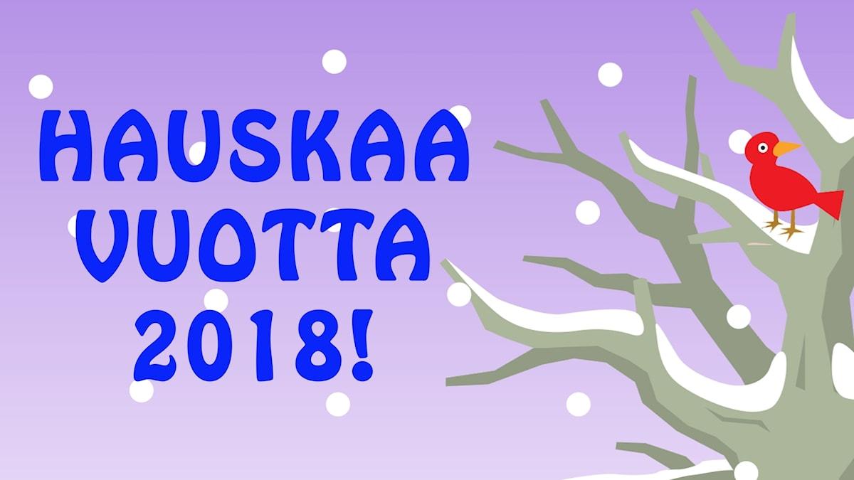 Hauskaa vuotta 2018!
