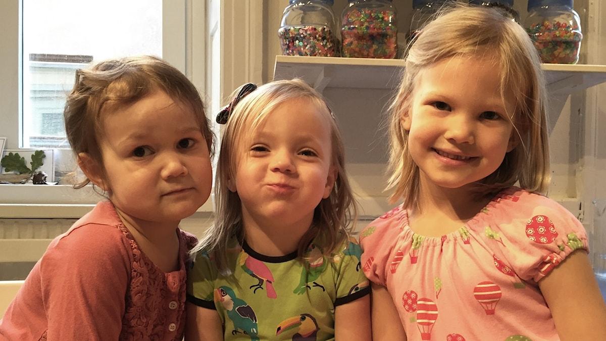 Vera, Sofie ja Sigrid