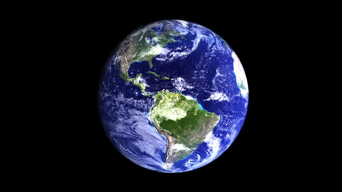 Planeetta Tellus avaruudesta katsottuna