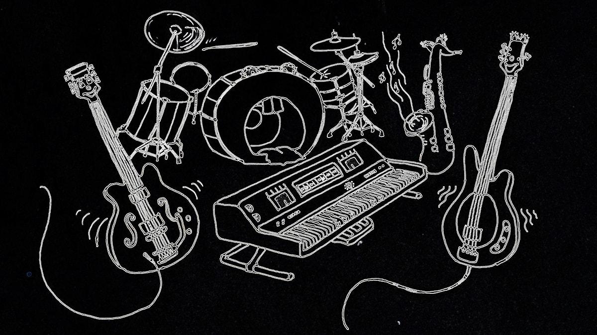 Bändin soittimiet