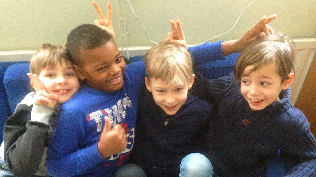 Ossian, Terence, Owen ja Nicolas
