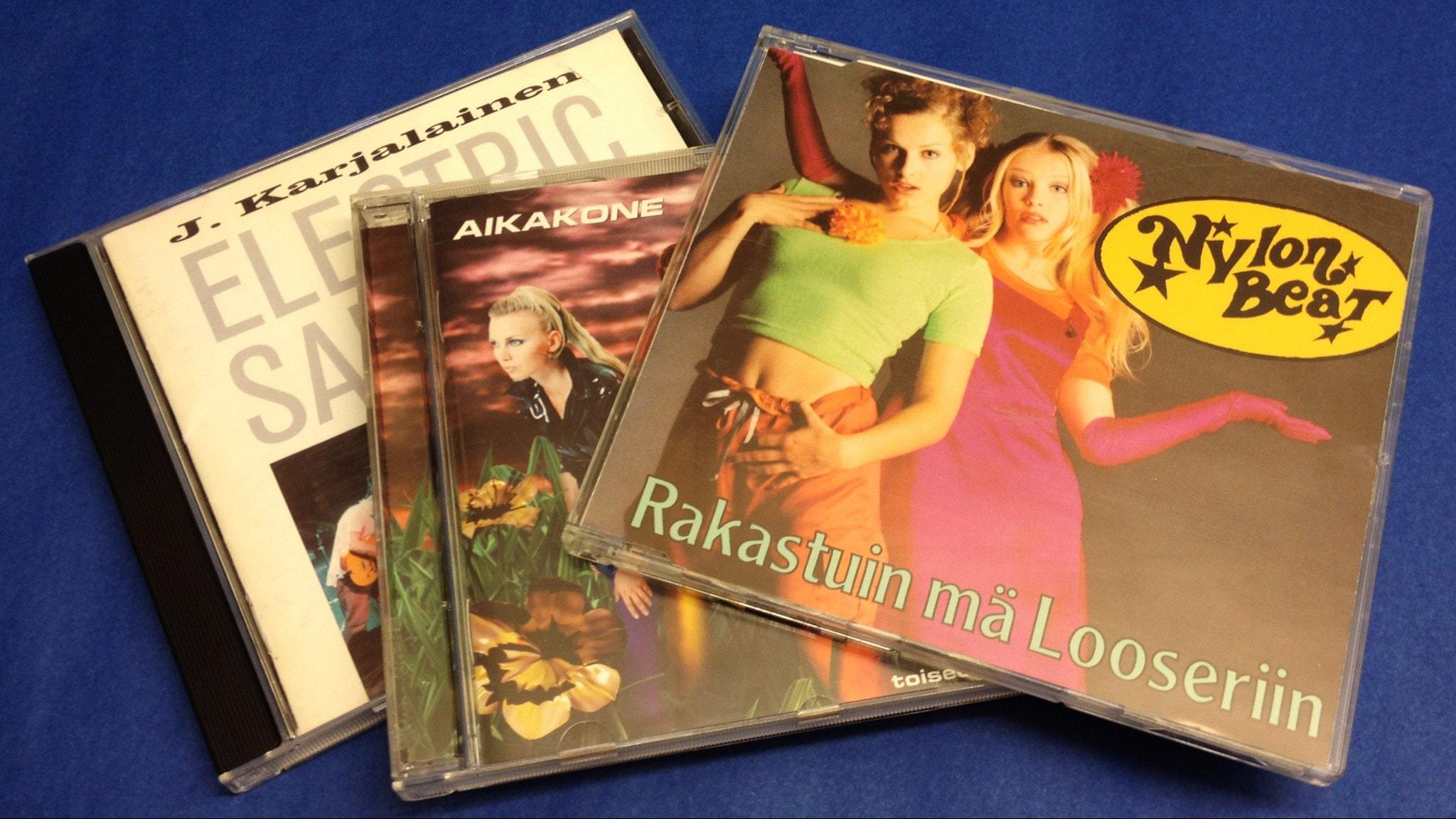 CD-levyt joista Matilda tykkää!