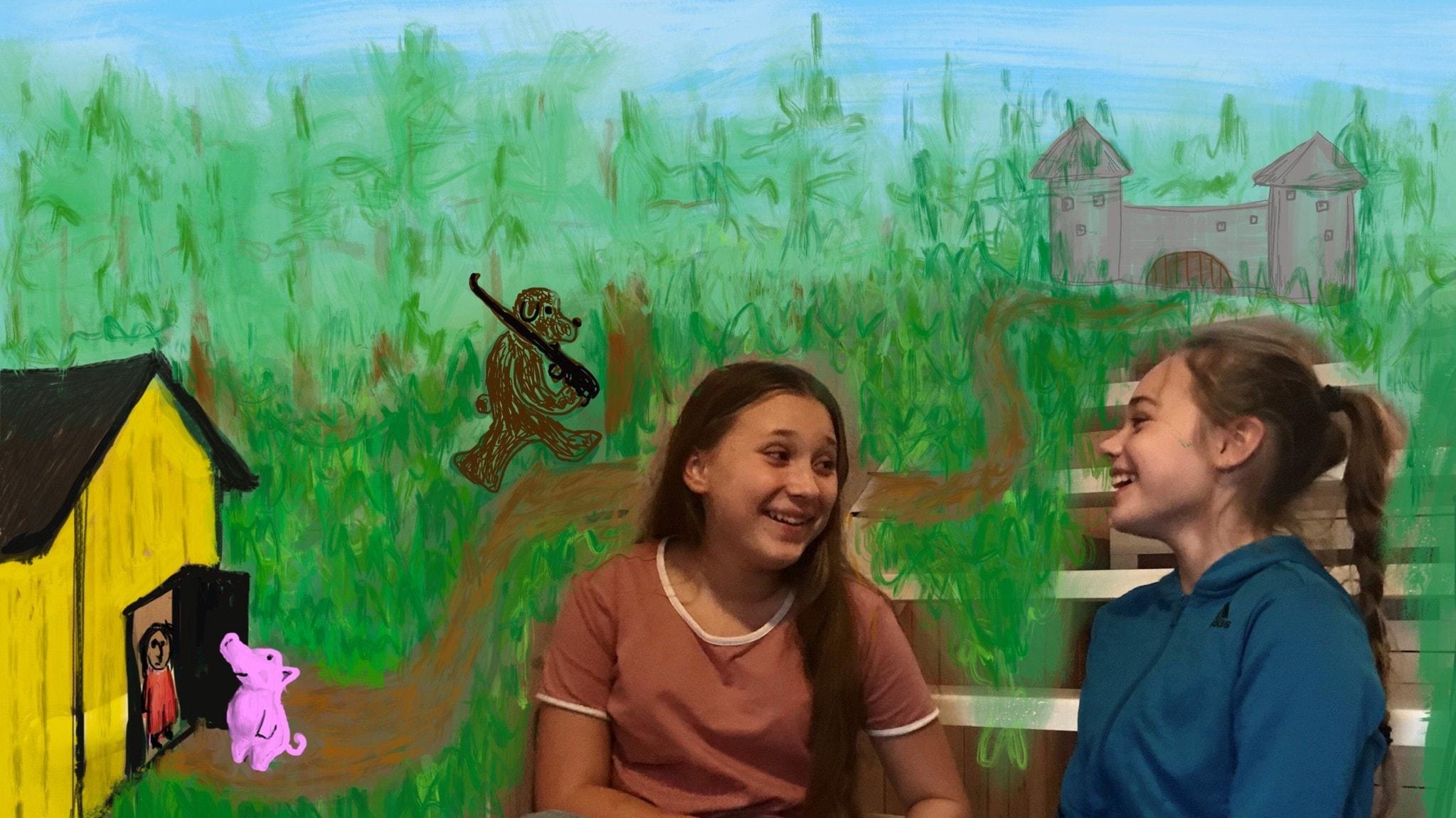 Tarinasarja, osa 1/5: Tyttö ja possu