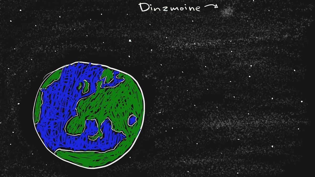 Planeetta, jossa Dirksan asuu