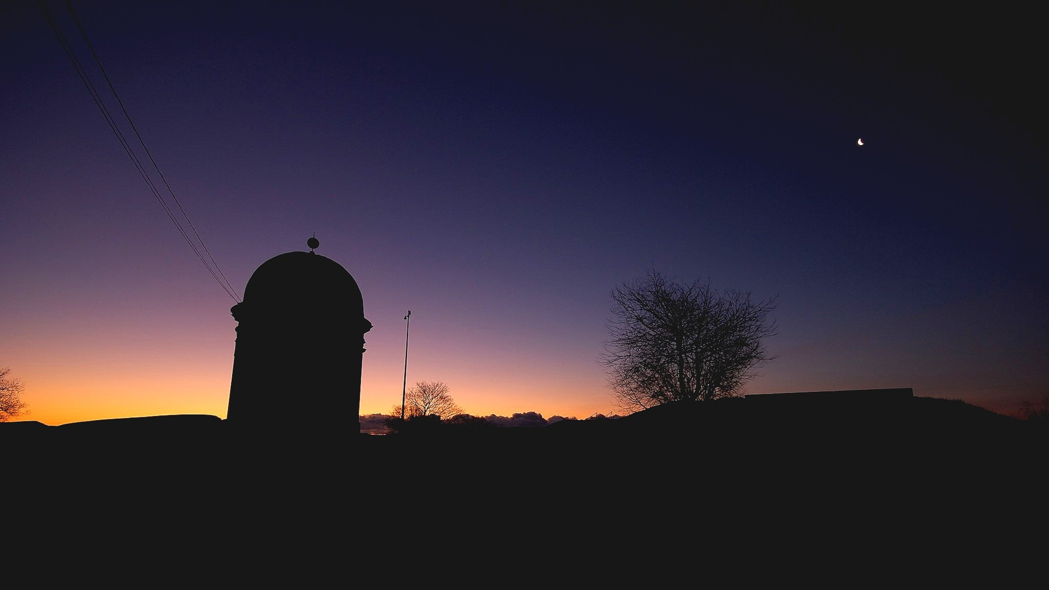 Ett observatorium i Kaivopuisto