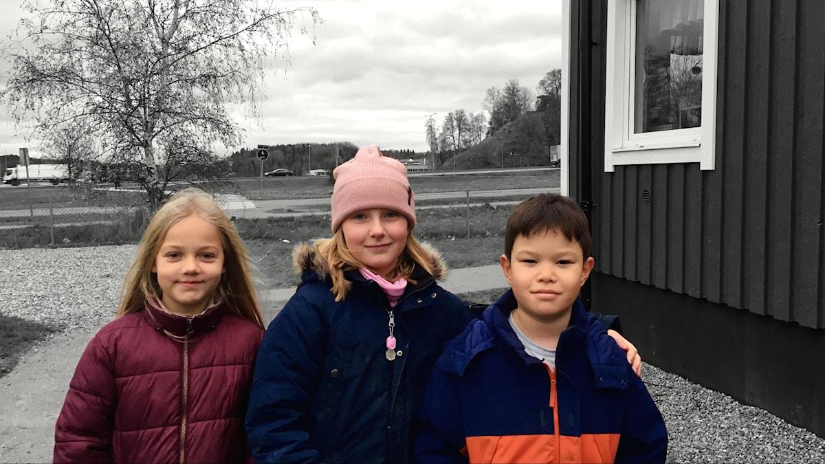Nova, Amelia ja Kai rivissä