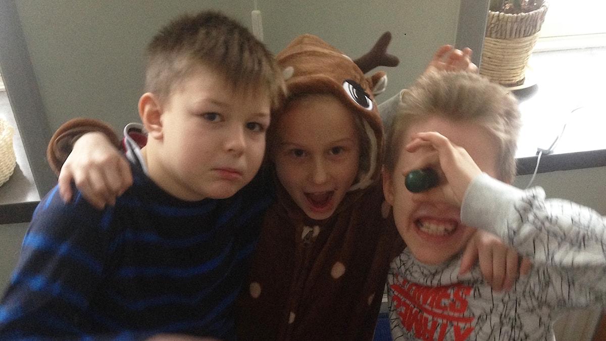 Noah, Alva ja Elmer