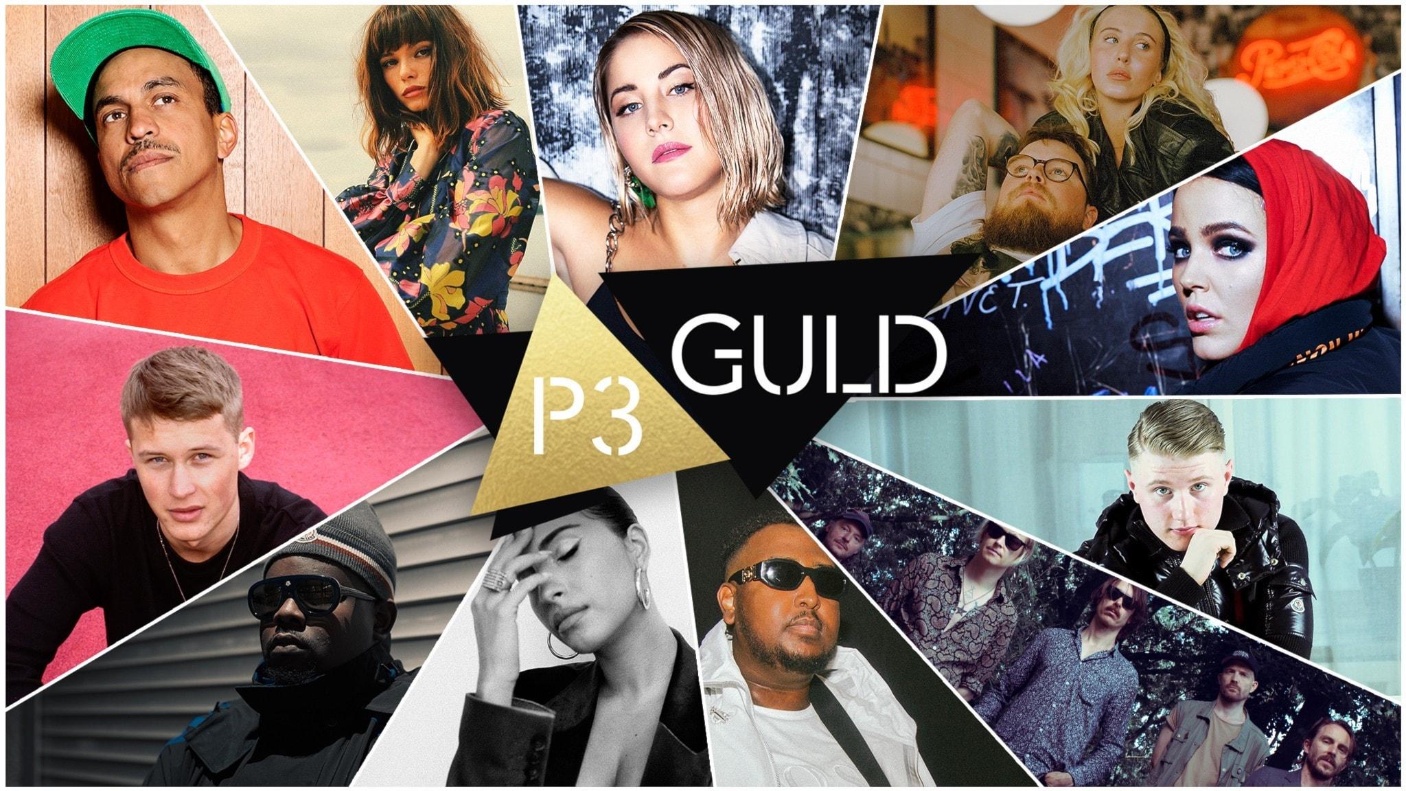 Uppträdande artister - P3 Guld 2020