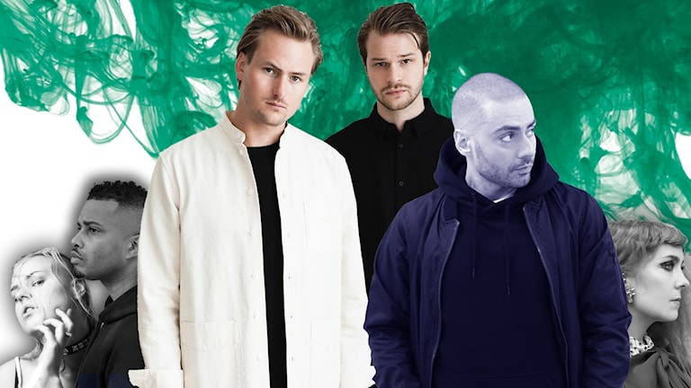 Parham och Nause på bild med Miss Li, Erik Lundin och Rein