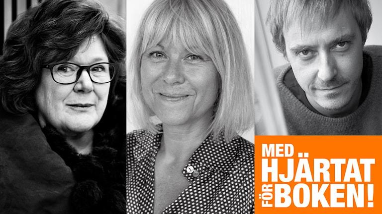 Majgull Axelsson, Kristina Kappelin och Jonas Karsson