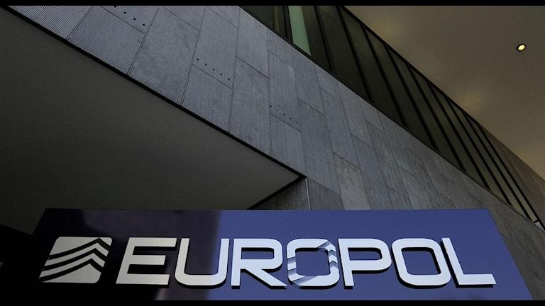 Den europeiska polismyndigheten Europol. Foto: Lex van Lieashout/TT