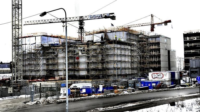 Det borde byggas fler bostäder tycker alla men det går för långsamt. Foto: Ingvar Karmhed / SvD / TT/