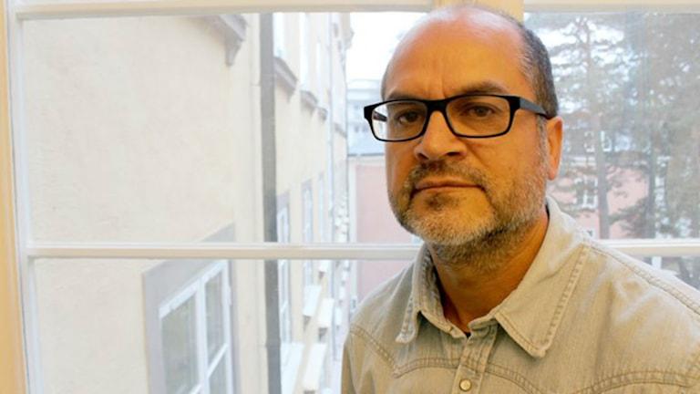 Juan Figueroa. Foto: Dimitri Lennartsson/Sveriges Radio.