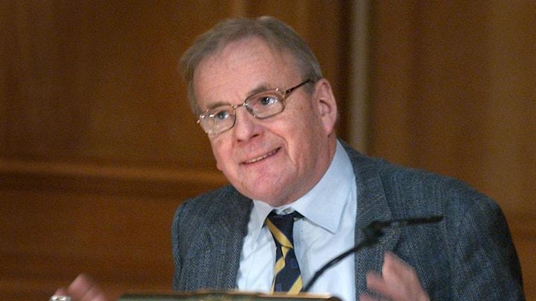 Bild på Olof Ruin, professor i statsvetenskap. Foto: Anders Wiklund/TT