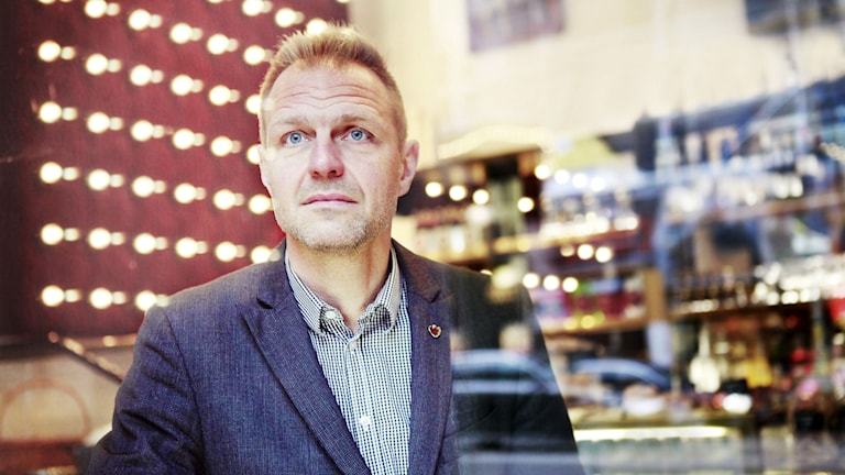 Jonas Nordling, ordförande Journalistförbundet. Foto: Theresia Viska