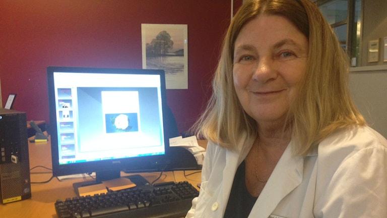 Meri Liljegren är överläkare på Kvinnokliniken på Södersjukhuset i Stockholm, där Amel-mottagningen ligger. Foto: Bita Eshraghi