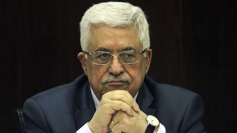 Mahmoud Abbas, palestinsk president. Foto:TT/AP Photo.