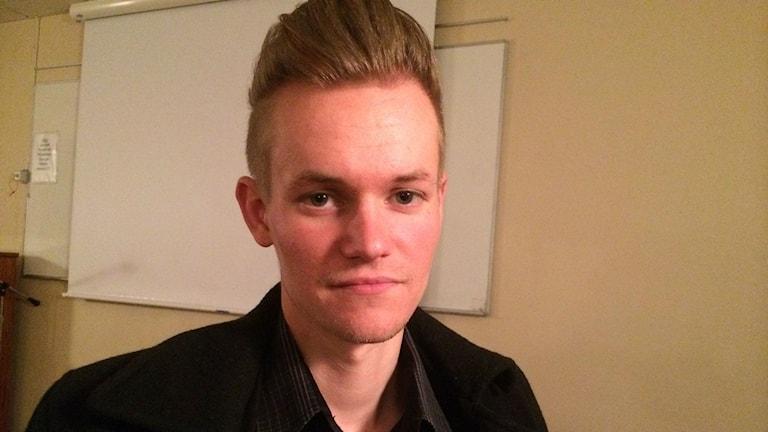 Frilansjournalisten Joakim Medin. Foto: Besir Kavak/Sveriges Radio