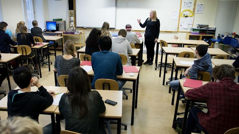 RFSU har för stor roll i sexualundervisningen i svenska skolorna idag menar kritiker. Foto: Jessica Gow / TT