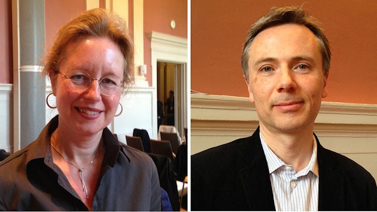 Susanne Wigorts Yngvesson och Benjamin Weaver