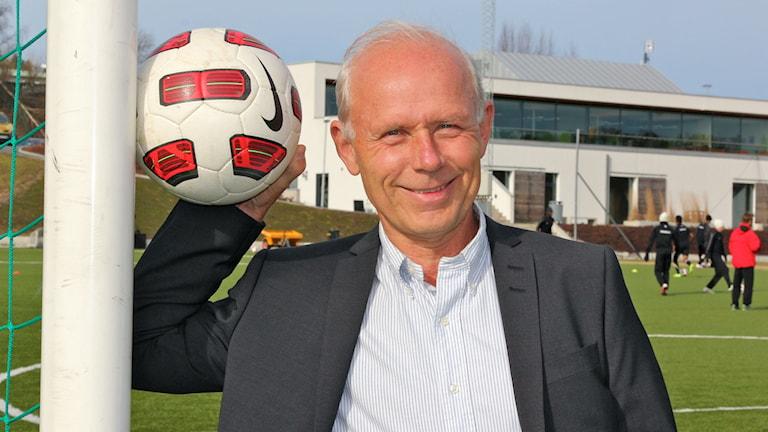 Dennis Andersson, generalsekreterare för Gothia Cup, ser fram emot en intensiv vecka. Foto: Gothia Cup