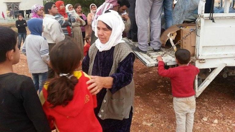 En explosion i turkiska Suruc har abrutit svenska hjälpsändningar till Syrien. Foto: Privat