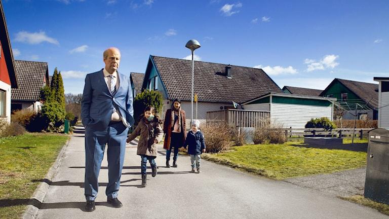 "Bild ur filmen ""En man som heter Ove"""