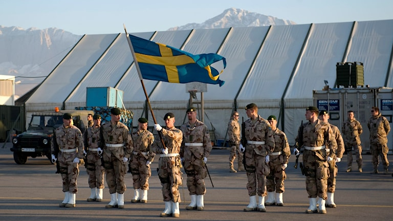 Isaf-Truppen in Afghanistan Foto: Henrik Montgomery/TT.