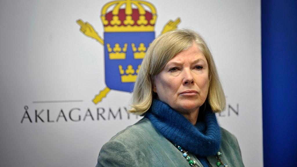 Tora Holst, Chief Prosecutor saiys she has not sent the letter. Photo: Anders Wiklund / TT