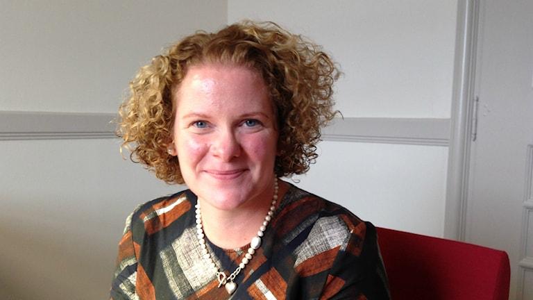 Karin Wanngård är finansborgarråd i Stockholm. Foto: Isabelle Swahn/Sveriges Radio.
