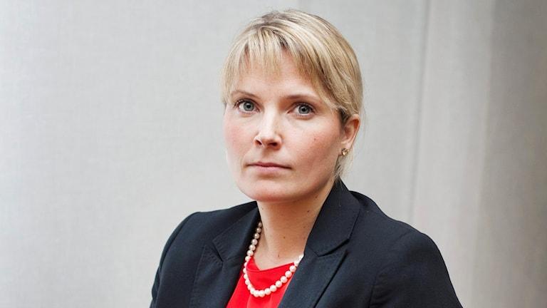 Generalsekreterare vid Institutet mot mutor Helena Sundén.