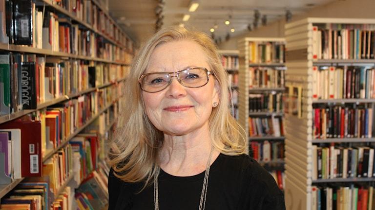 Margaretha Lindh, chef Internationella biblioteket Stockholms stad. Foto: Toma Gergely