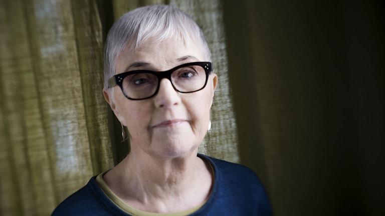 Författaren Bodil Malmsten har gått bort. Foto: Malin Hoelstad / SvD / TT