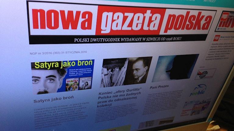Новая Польская Газета - бесплатная газета по-польски в Швеции.
