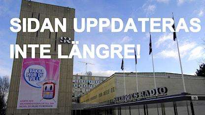 Radio Sweden på svenska läggs ned. Här är en bild på hela redaktionen.