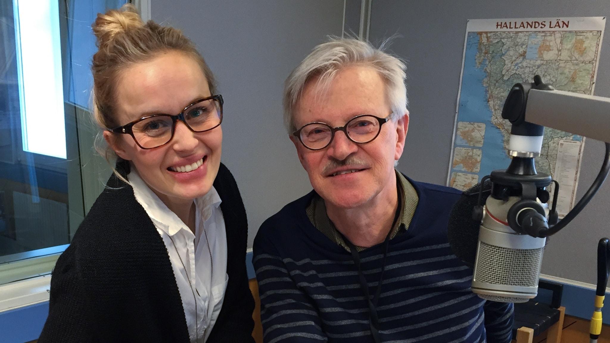 Med Göran Frost och Erika Löthberg