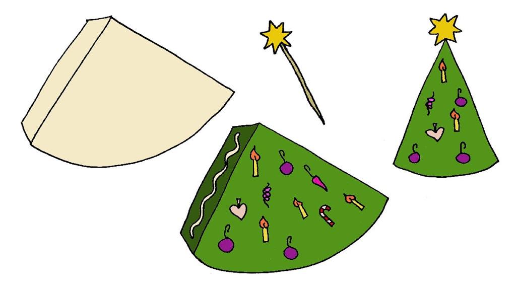Julpyssel - julgran