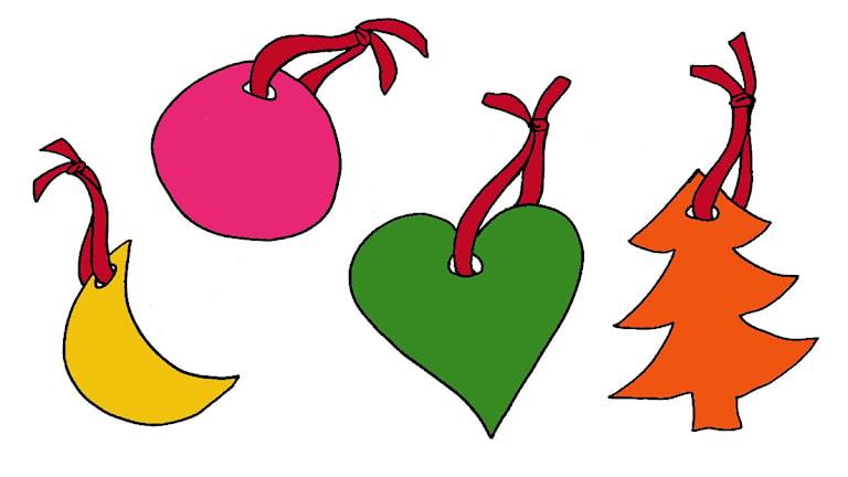 Julpyssel 18: Julgransprydnader av trolldeg
