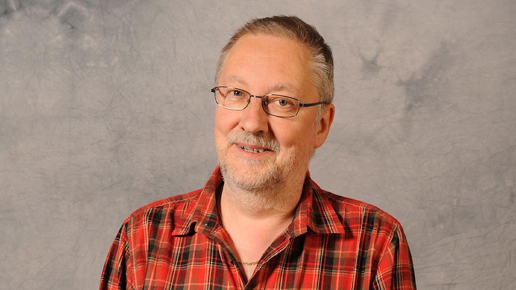 Mats Arnqvist, ljudtekniker. Foto: Matts Nylander/Sveriges Radio.