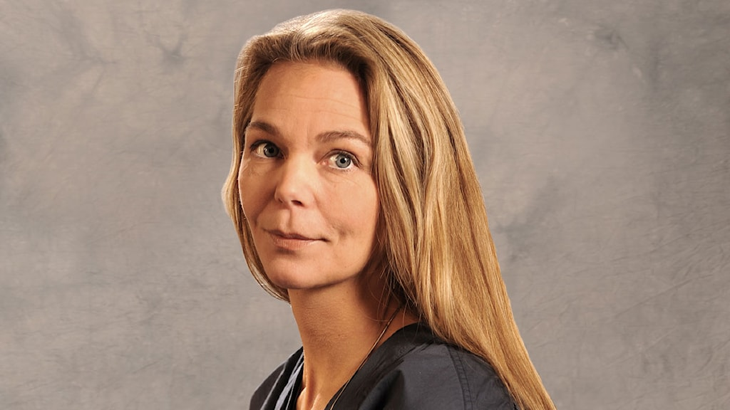 Lisbeth Hermansson, producent för P4 Morgon. Matts Nylander/Sveriges Radio.