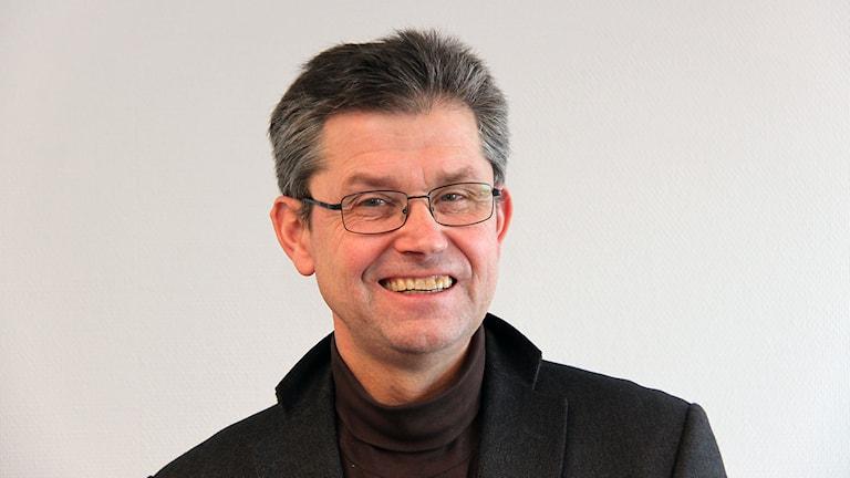 Ricky Karström, kanalchef P4 Jämtland. Foto: Janne Mårdberg/Sveriges radio.
