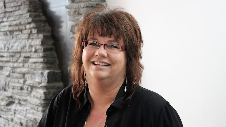 Anneli Johansson. Foto: Janne Mårdberg/Sveriges radio.
