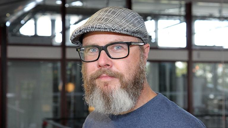 Fredrik Alverland. Foto: Janne Mårdberg/Sveriges radio.
