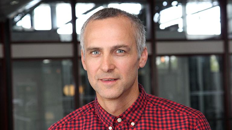 Fredrik Vestberg. Foto: Janne Mårdberg/Sveriges radio.