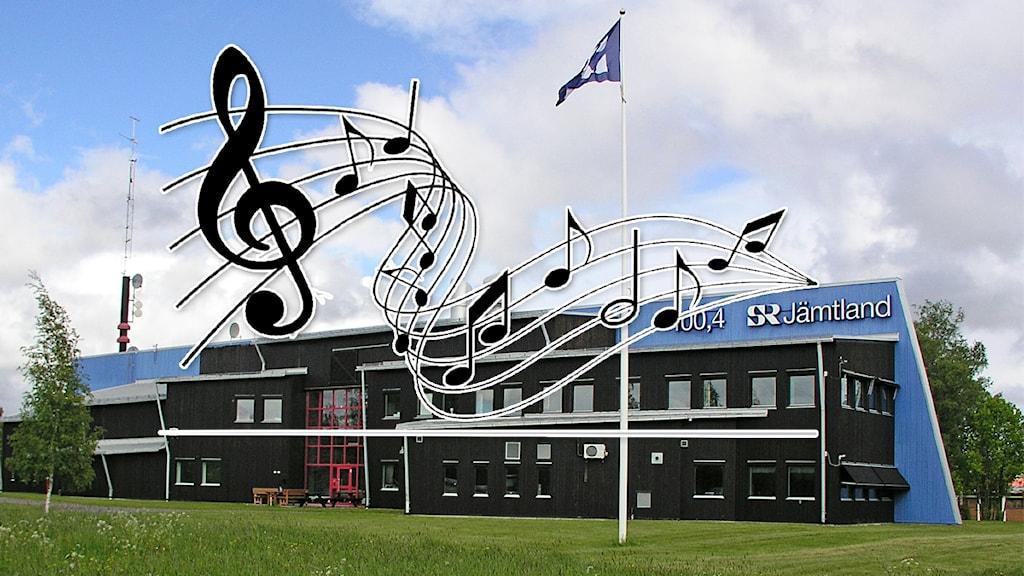 P4 Jämtland hyllar lokal musik 22/4 2015