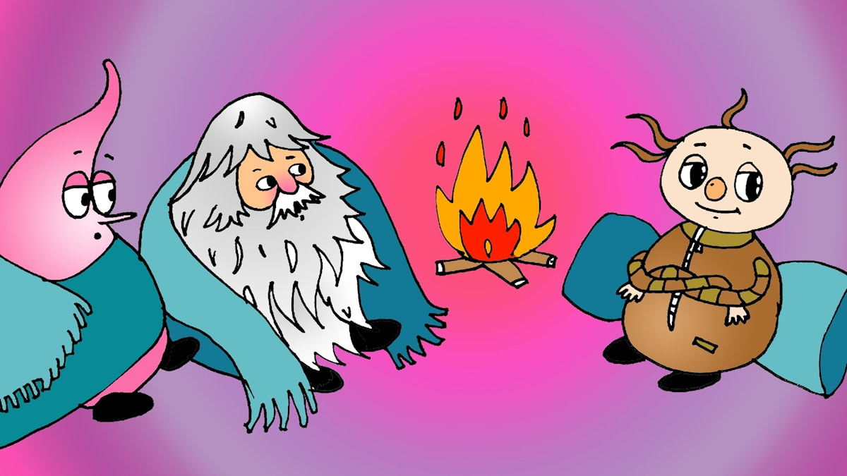 Doj-dojs födelse, illustration: Sveriges Radio