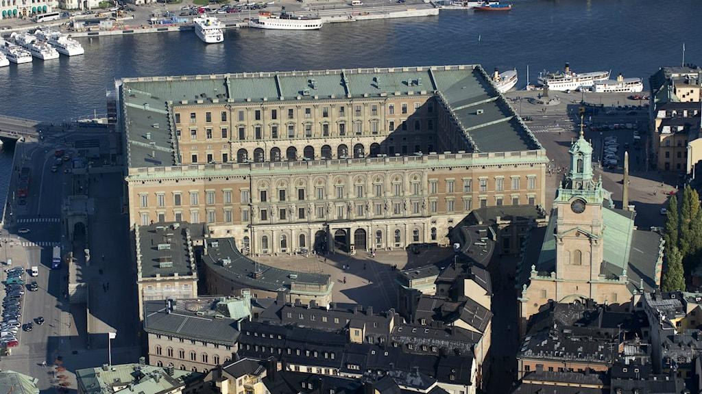 Stockholm Slott. Foto: Jonas Ekströmer/TT Bild