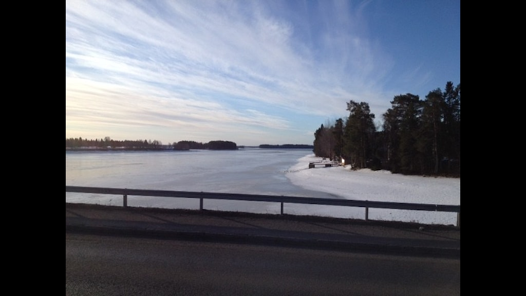 Utsikt över Stora Blåsjön