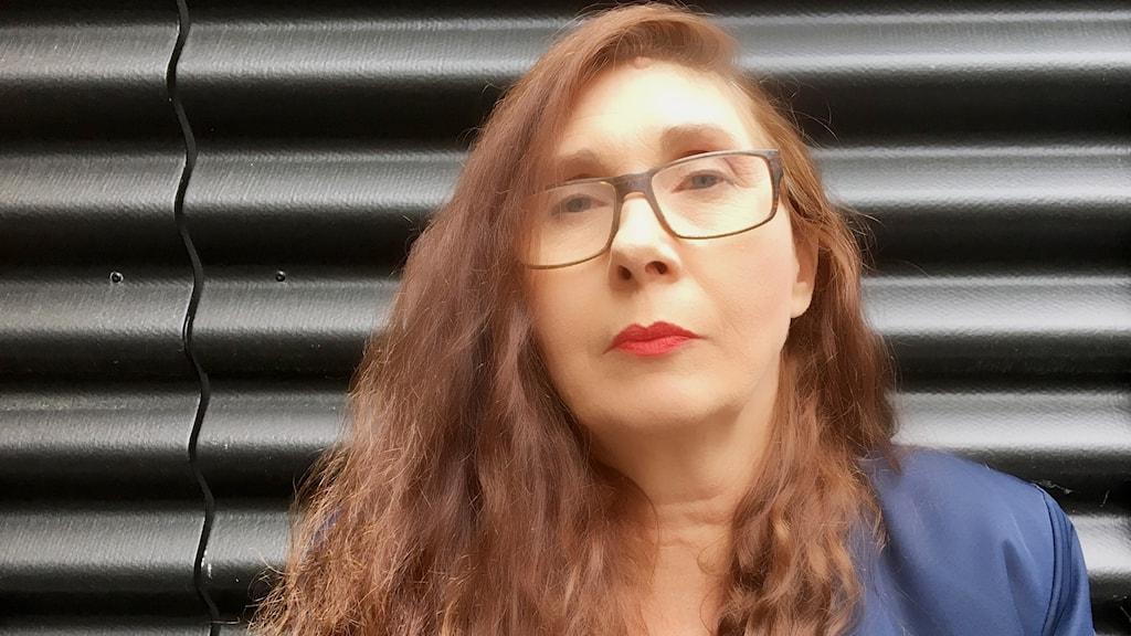 Porträttbild av konstnären Lena Mattson.